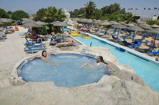 big slides - Picture of Lido Waterpark, Mastichari ...