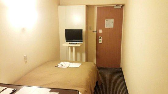 Shinagawa Prince Hotel Tokyo : シングル 奥から見た感じ