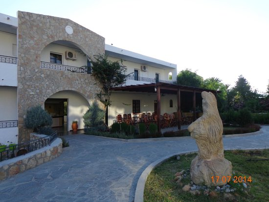 Hotel Sun Beach Lindos: ресепшн