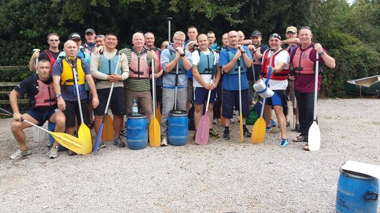 Ross on Wye Canoe Hire - Day Trips : Team Building Day 2014