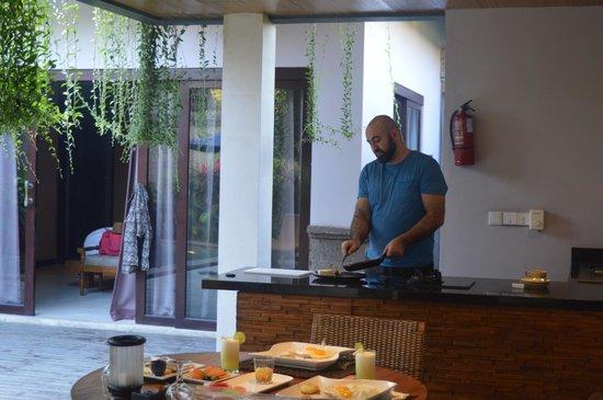 The Lokha Umalas Villas & Spa: private kitchen