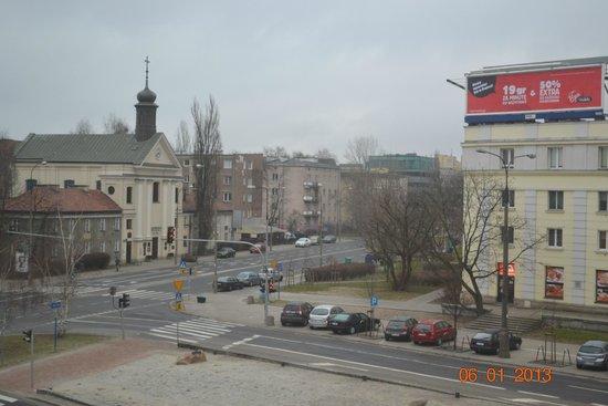 Ibis Warszawa Stare Miasto - Old Town: Вид из окна моего номера