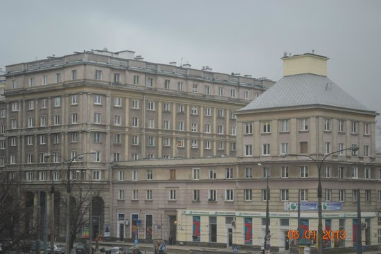Ibis Warszawa Stare Miasto - Old Town: Вид из окна номера на третьем этаже