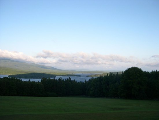 Lodge at Moosehead Lake: Moosehead Lake view from the Bear room
