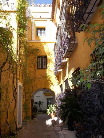Las Casas de la Juderia: vicoletto