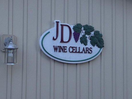 JD Wine Cellars - Sign at entrance
