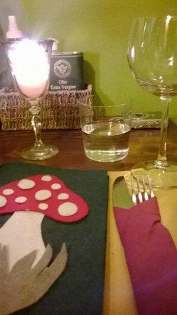 Cacio Vino Trallallà : romantico tavolino
