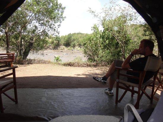 Serian: View from Nkorombo tent