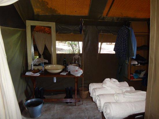 Serian: Nkorombo bathroom