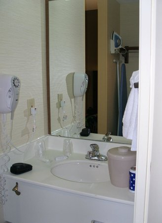 Fairfield Inn & Suites Atlanta Buckhead: Badezimmer
