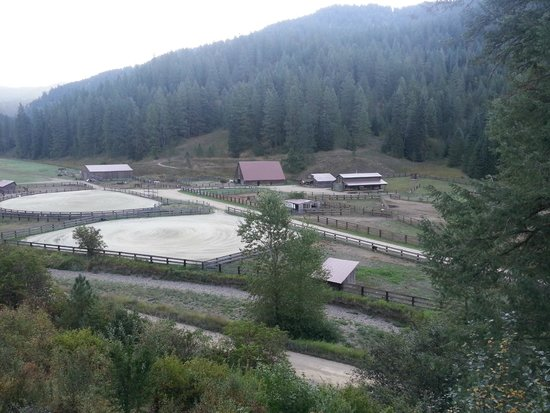 Red Horse Mountain Ranch : view