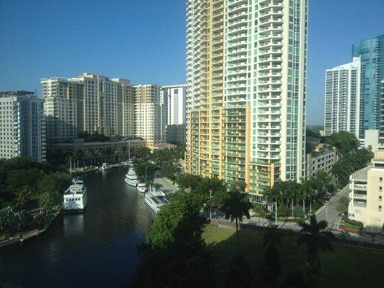Riverside Hotel : Vista do quarto do hotel
