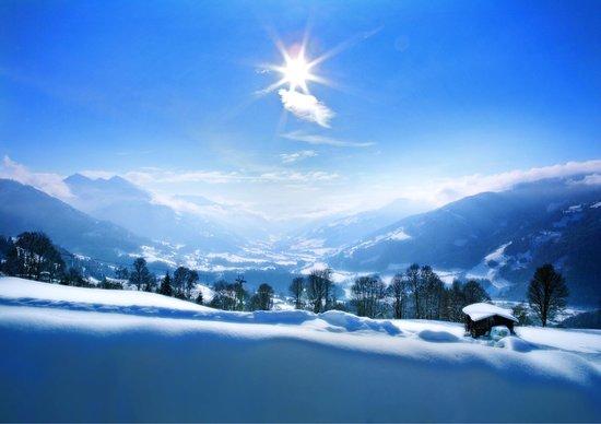 Rosis Sonnbergstuben: Ausblick im Winter