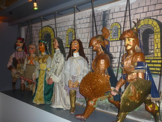 Museo Aretuseo dei Pupi: pupi