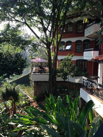 Heri Heights Serviced Apartments: Outdoor patio