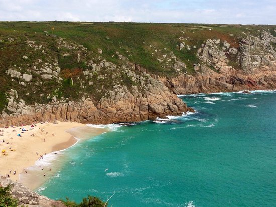Trevedra Farm Caravan and Camping Site: One of the beaches near by