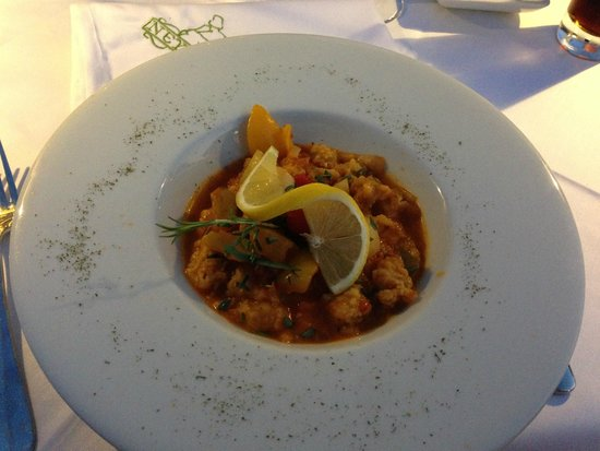 Neyzade Restaurant : Not a fan of monkfish as its hard to flavour, but al the other components make this a tasty dish