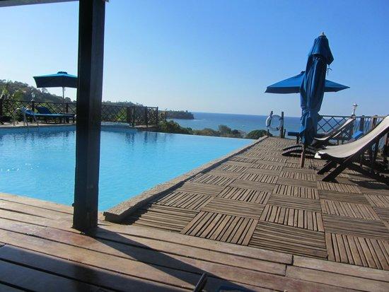 Le Grand Bleu : Sun Terrace/infinity pool