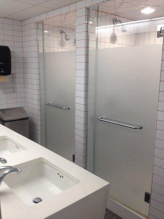 West Side YMCA : Shared girls bathroom