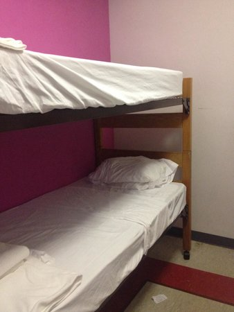 West Side YMCA : Bunkbeds in private room
