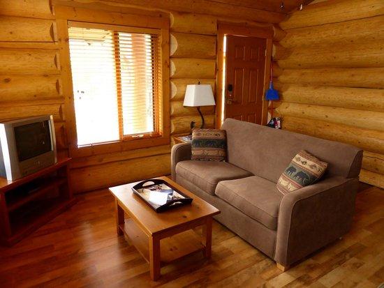 Alpine Meadows Resort: Onze woonkamer