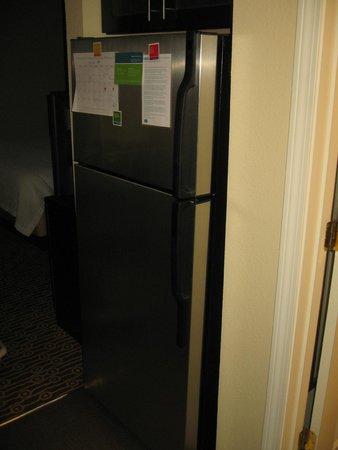 TownePlace Suites Burlington Williston: Fridge/Freezer
