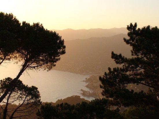 Portofino Kulm Hotel: Breathtaking view of Paradise Gulf from Kursaal