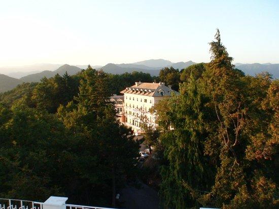 Portofino Kulm Hotel: Breakfast on the terrace