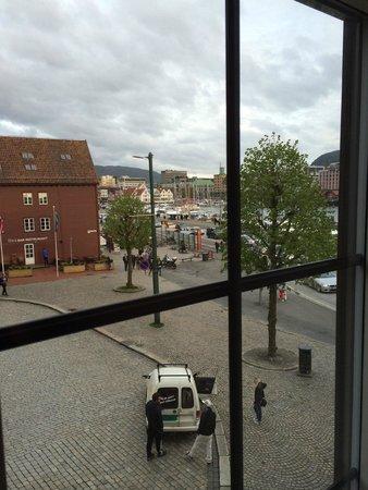 Clarion Collection Hotel Havnekontoret: Utsikten fra rommet