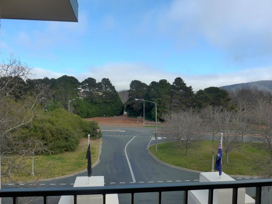 Hyatt Hotel Canberra: view from one of the rooms balcony