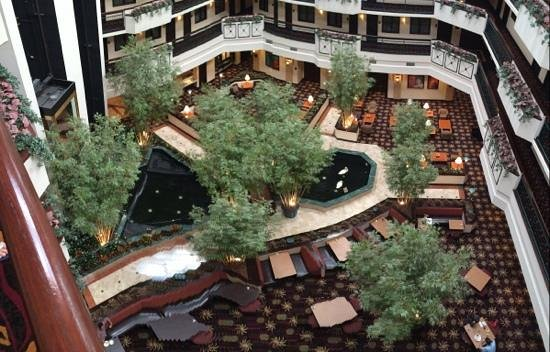 Embassy Suites by Hilton Dulles Airport: Atrium