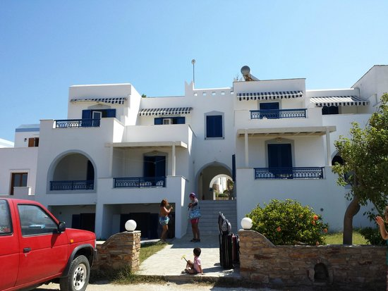 Cycladic Islands Hotel: facciata anteriore