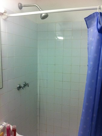 Hospederia San Martin Pinario: ducha