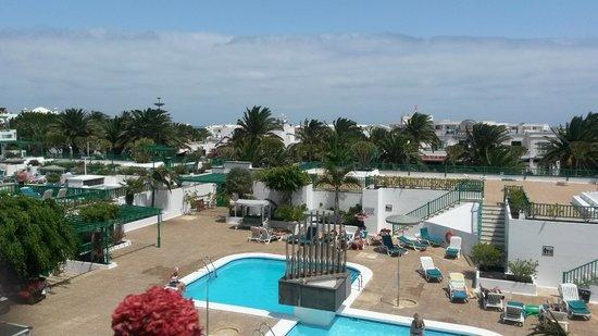Nazaret Apartamentos: View from balcony.