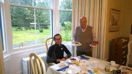 Kerrow House : petit-déjeuner
