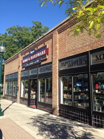 Historic Gaslight District: Great hardware store with something for everyone