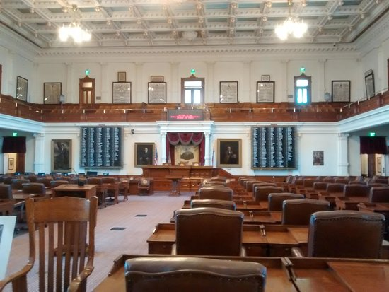 State Capitol : senators chamber