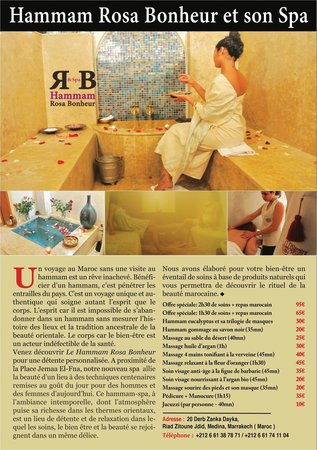Riad Gallery 49 : spa
