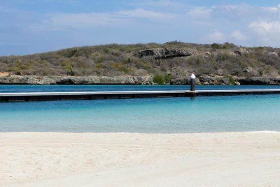 Santa Barbara Beach & Golf Resort, Curacao : Praia do hotel
