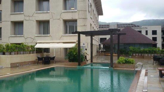 Fortune Select Dasve, Lavasa: 2nd floor swimming pool..
