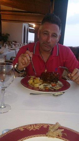 Rural Hotel Almazara: Dinner in restaurant very tasty