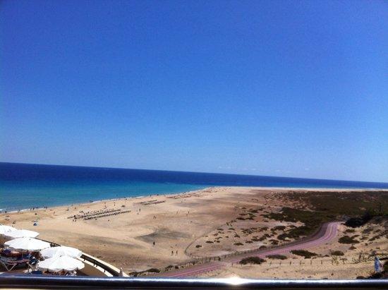 Jandía: Playa de jandia desde iberostar playa.