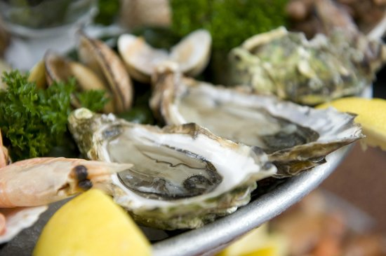 Lucius Seafood Restaurant: Oesters detail