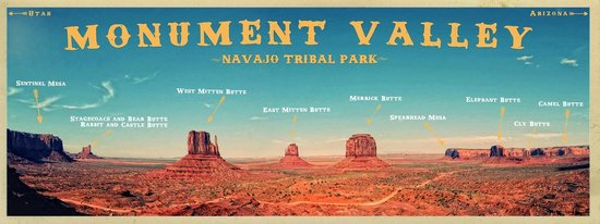 Map Of Monument Valley Monument Valley map   Picture of The View Hotel, Monument Valley