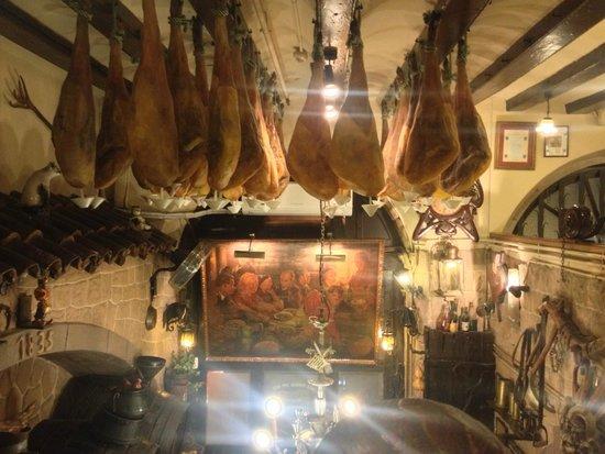 Los Caracoles : jambon