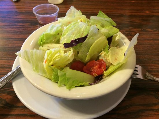 Solvang Restaurant: Salada de Entrada