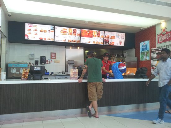 Front Counter  Picture Of Wendy's Arby's, Abu Dhabi. Rectangular Table Sizes. Office Max L Desk. Vanity Drawer. Over The Desk. Black White Chest Of Drawers. Four Person Desk. Drawer Style Dishwashers. Drawer Glide