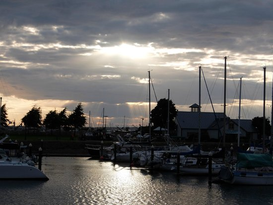 Anthony's Hearthfire Grill ~ Squalicum Harbor: The views of the marina