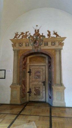 Schloss Augustusburg: Hazentoren deur