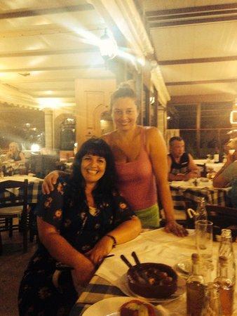 Zorba's Taverna : Me and the lovely Klara